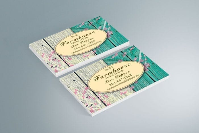 Farmhouse Business Card Design