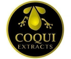 Coqui Extracts Logo Design
