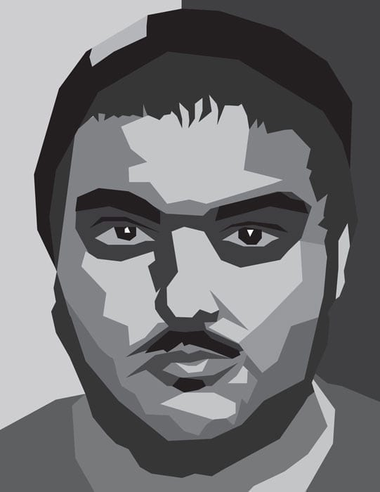 Anthony Salcedo Vector Self Portrait