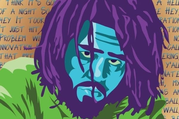 J.Cole Vector Pop Art Poster