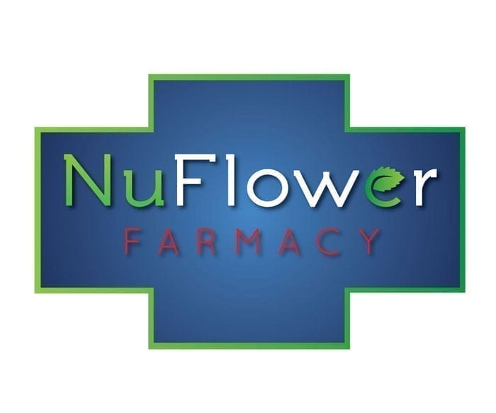NuFlower Farmacy Logo Design