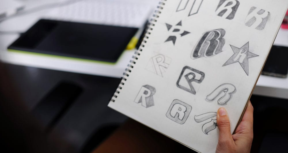 logo design sketches