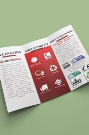 brochure example design