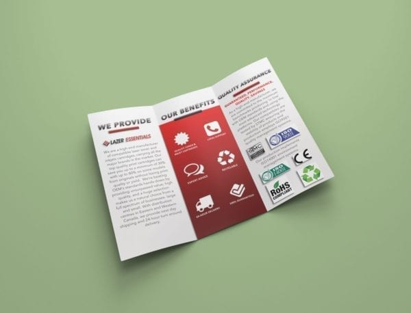 brochure example design
